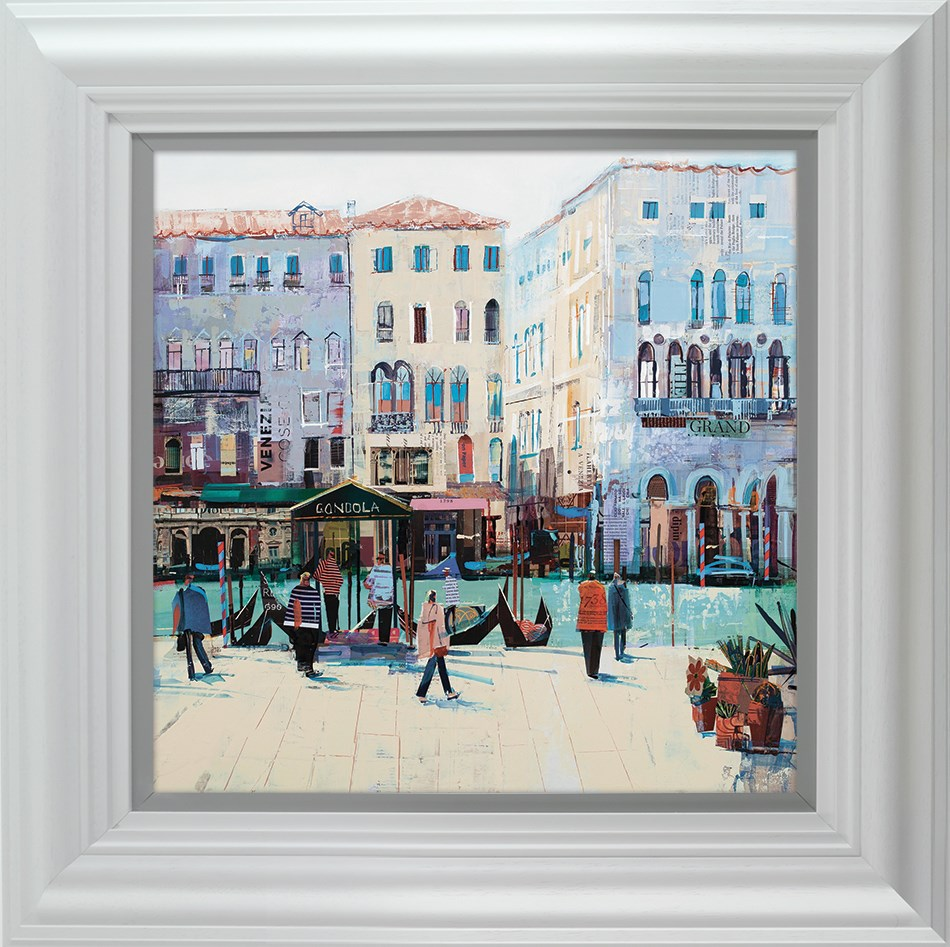 Grand Daze by Tom Butler - Hand Finished Limited Edition on Paper sized 16x16 inches. Available from Whitewall Galleries